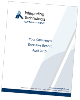 Interpreting Technology executive report